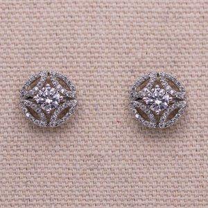 Meghan Markle Wedding Cubic Zirconia Stud Earrings